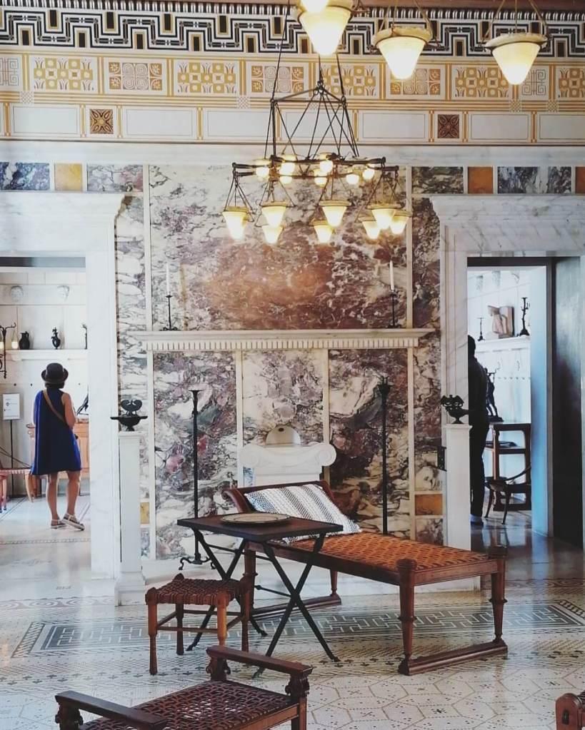Visit villa Kerylos in Beaulieu-sur-Mer on the French Riviera