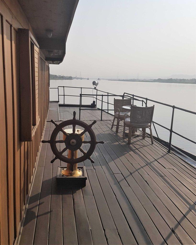 cruise on the Nile - steam ship sudan